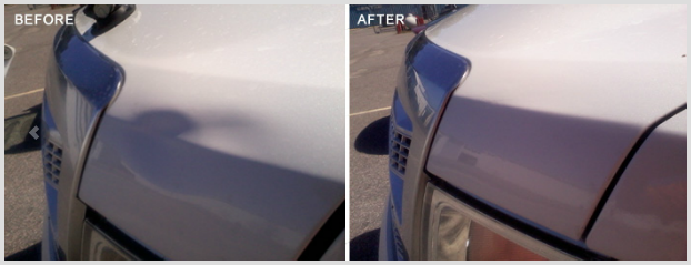 Before and After Repairs